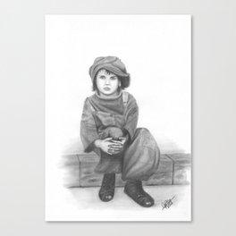 Alone in a cruel world Canvas Print