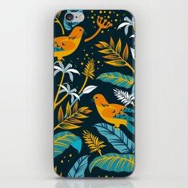 Birds in the night iPhone Skin