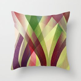 Abstract background G141 Throw Pillow
