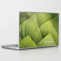 grass Laptop & iPad Skins featuring Grass by Yevheniia Hlova