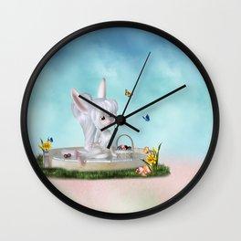 Sweet Rabbit Wall Clock