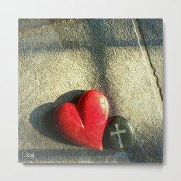 """Heart and Soul"" Metal Print"