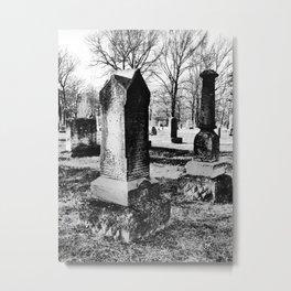 tombstones Metal Print