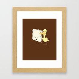 Best Friends For Now Framed Art Print