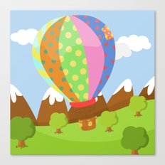 BALOON (AERIAL VEHICLES) Canvas Print