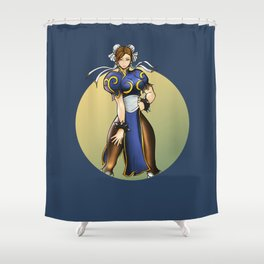 Chun Li Shower Curtain