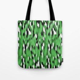 Green Leopard Pattern Tote Bag
