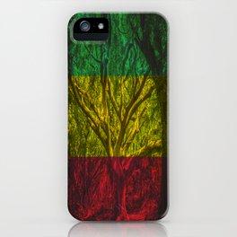 Rasta Forest iPhone Case