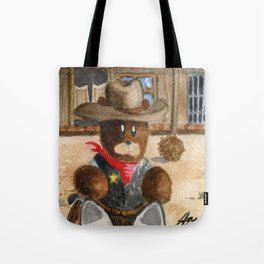 Sheriff Bear Tote Bag