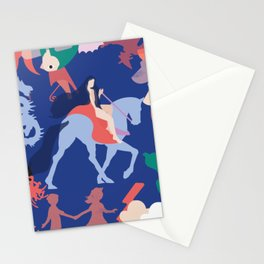 Lady godiva 2 Stationery Cards