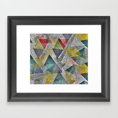 Rock Night Framed Art Print