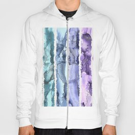 Colorful Painted Stripes Hoody