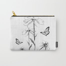Flowers and butterflies 2 Carry-All Pouch