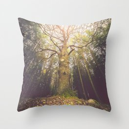 The taller we are Throw Pillow