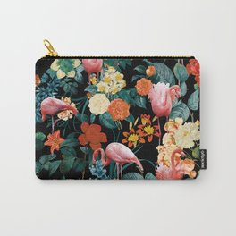 Floral and Flemingo II Pattern Carry-All Pouch