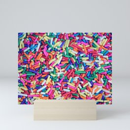 Rainbow Sprinkles Mini Art Print