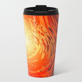 Complex Spiral Sunset4 Travel Mug