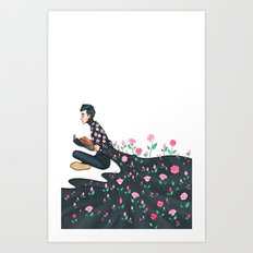 Flowering Tyler Art Print