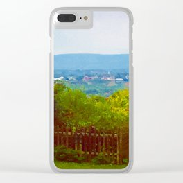 Amherst, Massachusetts Valley Clear iPhone Case