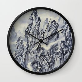 Mountain - Digital Remastered Edition Wall Clock
