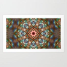 Sagrada Familia - Vitral 1 Art Print