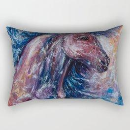 I Am The Storm Rectangular Pillow