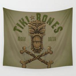 Tiki Bones Wall Tapestry