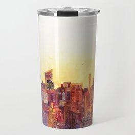 Sunshine in NYC Travel Mug