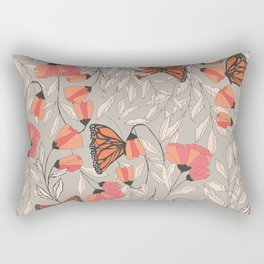 Monarch garden 001 Rectangular Pillow