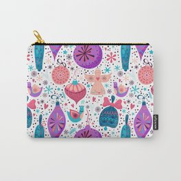 Winter holiday decoration Carry-All Pouch