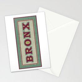 NY Subway Mosaic Bronx Borough Stationery Cards