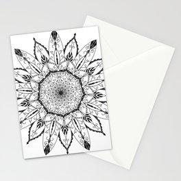 Mandala Lotus Tattoo nr. 48 Stationery Cards