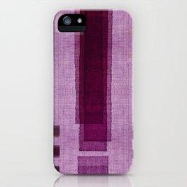 """""""Blackberry Retro Squares"""" iPhone Case"""