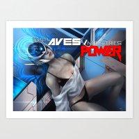 ENTER: AVES Industries (Poster) Art Print