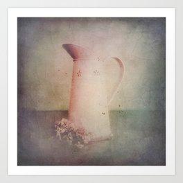 Vintage in Pink Art Print