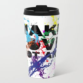 make love not art Metal Travel Mug