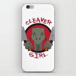 Cleaver Girl iPhone Skin