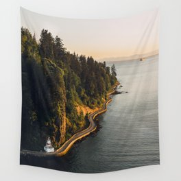 A Curvy Park - Vancouver, British Columbia, Canada Wall Tapestry