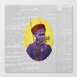 Resolução (Resolution) Canvas Print