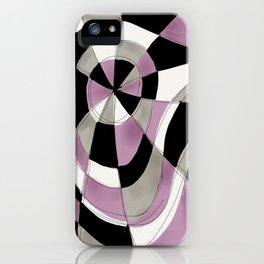 Purple Haze V iPhone Case