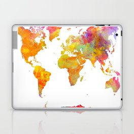 world map 23 Laptop & iPad Skin