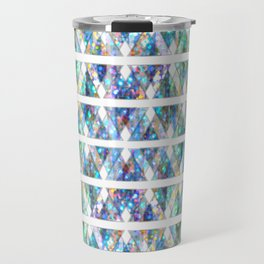 Geometric Glossy Pattern G331 Travel Mug