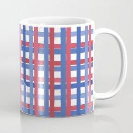 4th of July Gingham Coffee Mug