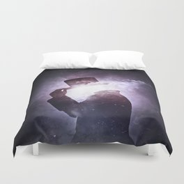 Interstellar +1 ~Saludo Duvet Cover