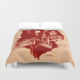Homage to Suspiria Duvet Cover