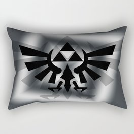 The Legend Of Zelda Logo Rectangular Pillow