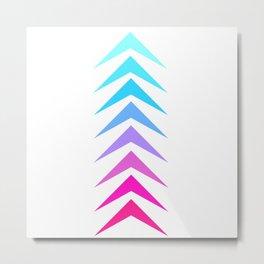 Follow Your Arrow Metal Print