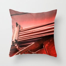Bloodlines for the Harvester Throw Pillow