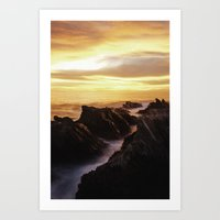 |SUN MAGIC| Art Print