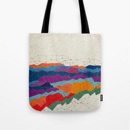 Landscape on Mars Tote Bag